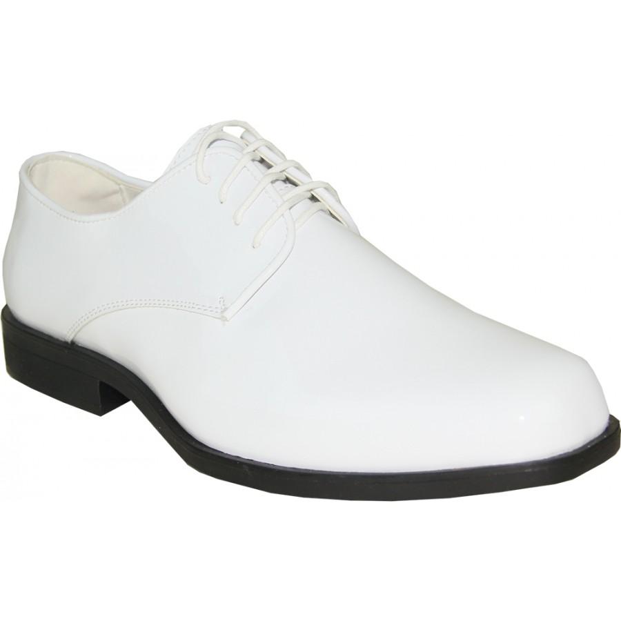 White Tuxedo Dress Shoes