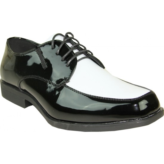 TUX-7-TWO-TONE - men's tuxedo lace-up dress shoes for sale