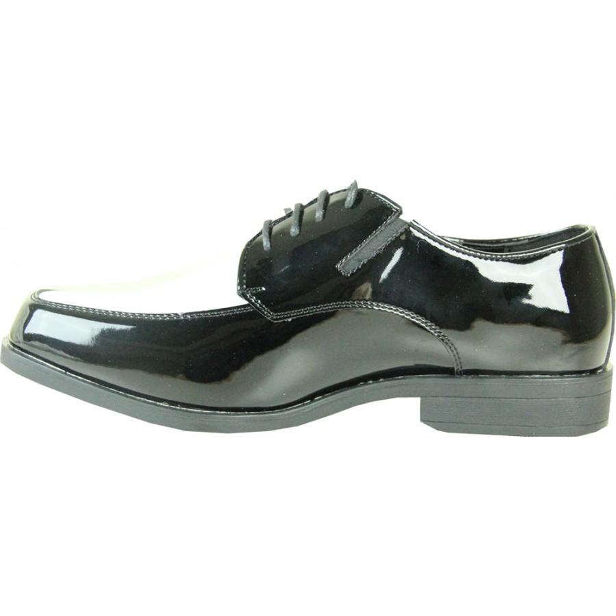 New Men Two Tone Dress Shoes Tuxedo Fashion Lace Up Oxfords Patent Shoe PL07