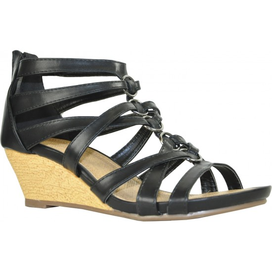 DIVYA-3 - women's wedge sandals for sale