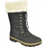 SG4477 - women's wedge heel fur boots for sale