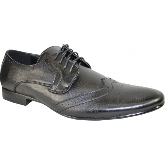 KLEIN-4 - Oxford Fashion Wing Tip with Point Toe