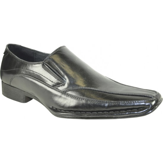 MARINO-6 - Loafer Dress Shoe Pointed Toe with Leather Lining